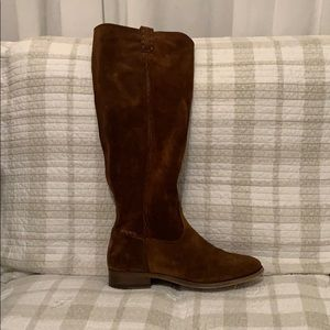 Frye Chocolate-Colored Tall Boots